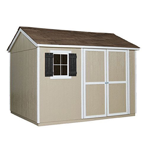 Handy Home Products Avondale Wooden Storage Shed With