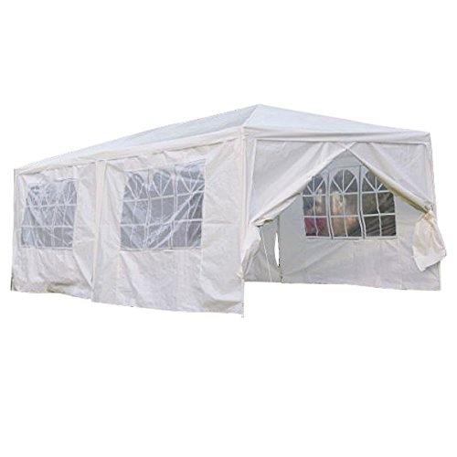 Qisan Canopy tent ...  sc 1 st  Outdoor Storage Ideas & Qisan Canopy tent carport 10 X 20-feet Carport with sidewalls ...